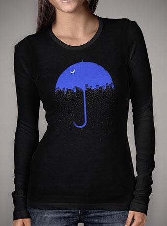 Женская футболка с длинным рукавом Two Side