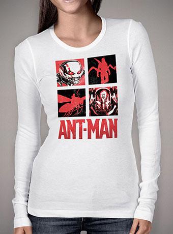 Женская футболка с длинным рукавом Ant-Man vs Yellowjacket Squared