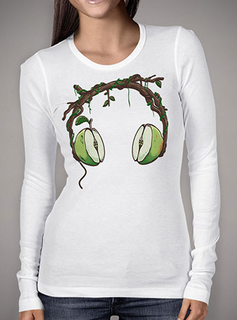 Женская футболка с длинным рукавом Apple Beats