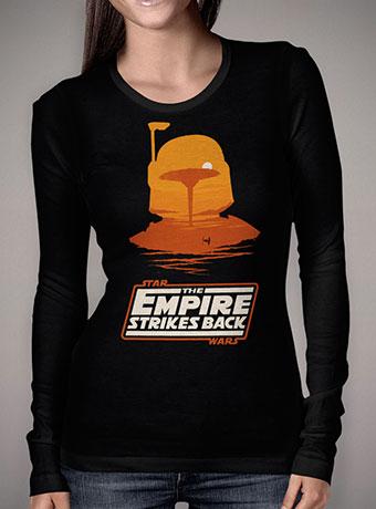 Женская футболка с длинным рукавом Boba Fett - Cloud City Sunset