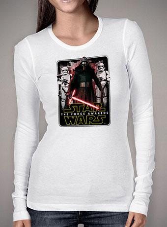 Женская футболка с длинным рукавом First Orders War