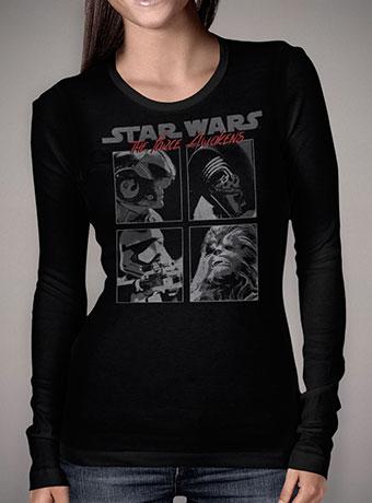 Женская футболка с длинным рукавом Force Awakened Squared