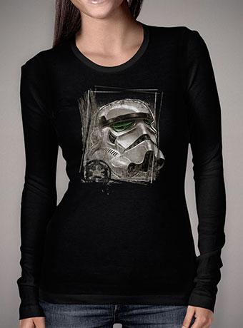 Женская футболка с длинным рукавом Imperial Stormtrooper Sketch