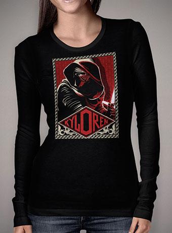 Женская футболка с длинным рукавом Kylo Ren Dark Ambition