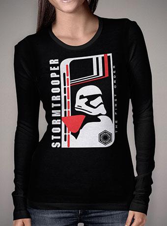 Женская футболка с длинным рукавом Modern Stormtrooper