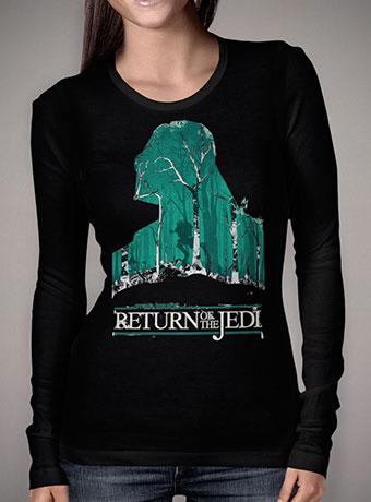 Женская футболка с длинным рукавом Return of the Jedi