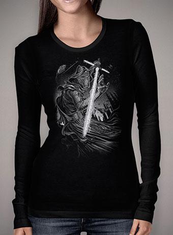 Женская футболка с длинным рукавом Shadow of Kylo Ren