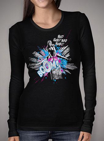 Женская футболка с длинным рукавом Girl Power
