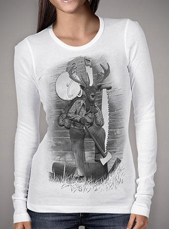 Женская футболка с длинным рукавом In the Woods