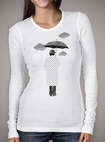Женская футболка с длинным рукавом Rainman