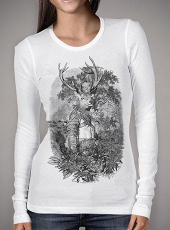 Женская футболка с длинным рукавом Stagmanok
