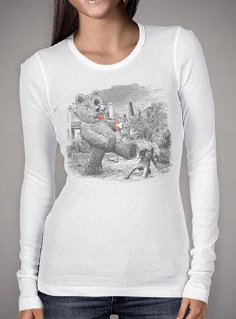 Женская футболка с длинным рукавом Teddy's Back!