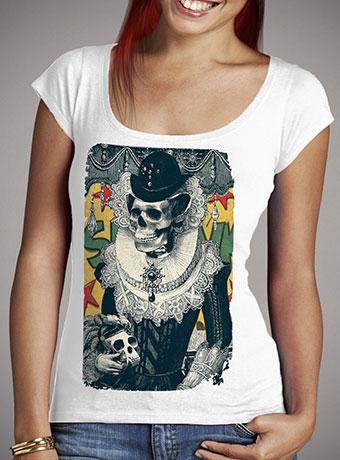 Женская футболка с глубоким вырезом Lady
