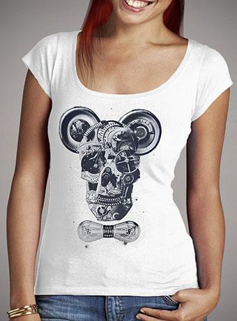 Женская футболка с глубоким вырезом Mechanics