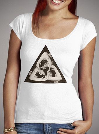 Женская футболка с глубоким вырезом Triangle