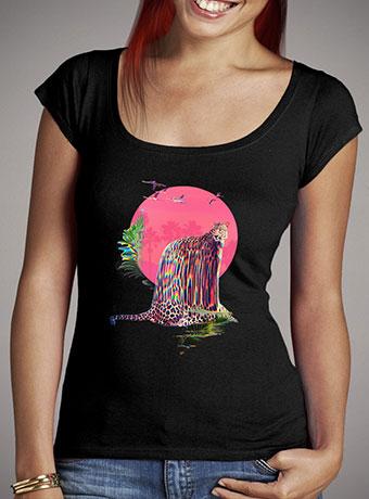 Женская футболка с глубоким вырезом Jaguar
