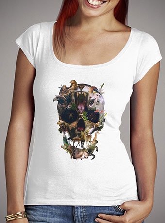 Женская футболка с глубоким вырезом Kingdom