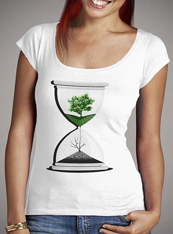 Женская футболка с глубоким вырезом We Are Drying Out