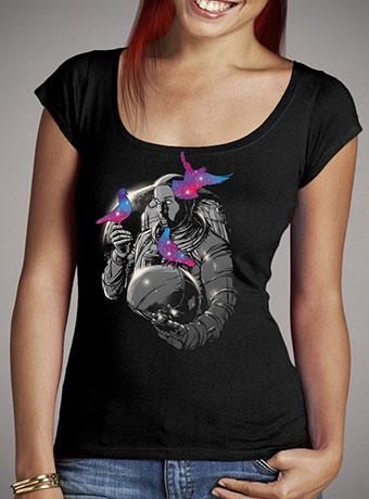 Женская футболка с глубоким вырезом A Touch of Whimsy