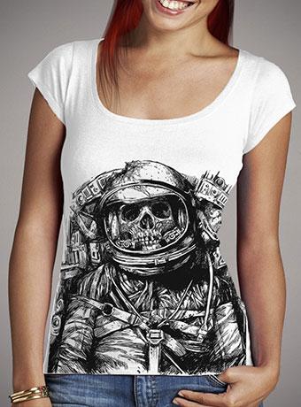 Женская футболка с глубоким вырезом Dead Astronaut