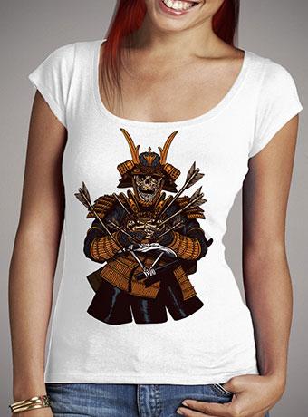 Женская футболка с глубоким вырезом Dead Samurai