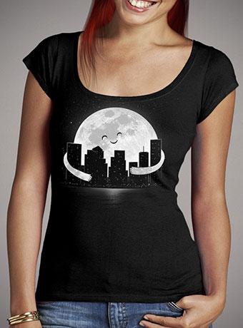 Женская футболка с глубоким вырезом Goodnight