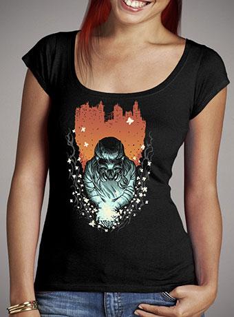 Женская футболка с глубоким вырезом Light of Life