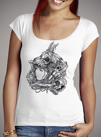 Женская футболка с глубоким вырезом Tribe