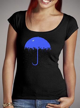Женская футболка с глубоким вырезом Two Side