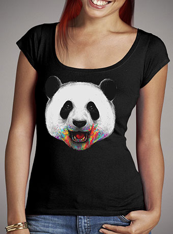 Женская футболка с глубоким вырезом Where is the Rainbow?