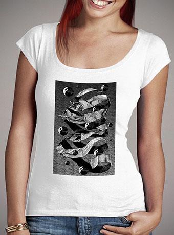 Женская футболка с глубоким вырезом MC Darth Vader