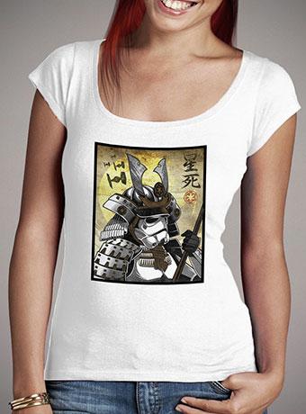 Женская футболка с глубоким вырезом Samurai Stormtrooper