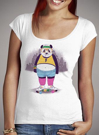 Женская футболка с глубоким вырезом Fashion Victim