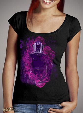 Женская футболка с глубоким вырезом Karma Police