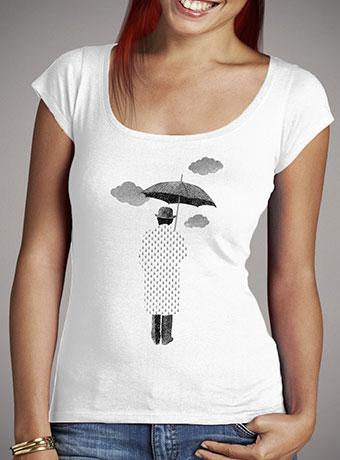 Женская футболка с глубоким вырезом Rainman