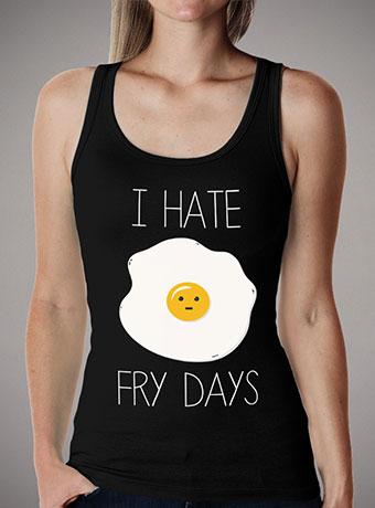 Женская майка I Hate Fridays