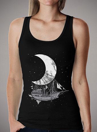 Женская майка Moon Ship