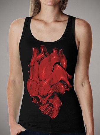 Женская майка Skull of Heart