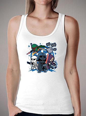 Женская майка Darth Vader and Friends