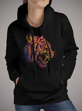 Женская толстовка Blazing Tiger