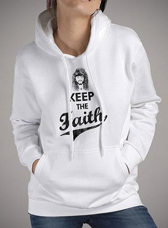 Женская толстовка Keep The Faith