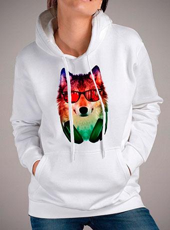 Женская толстовка Hippie Wolf