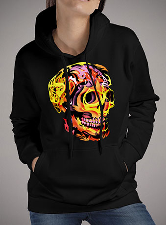 Женская толстовка Skull V