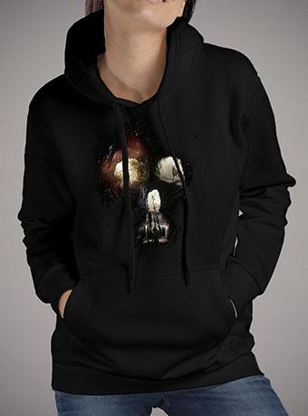 Женская толстовка Cave Skull