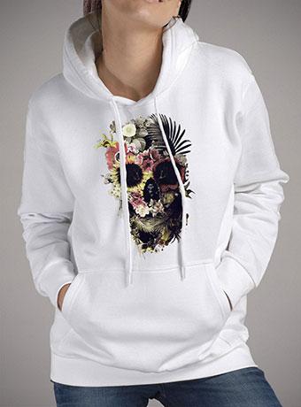 Женская толстовка Garden Skull