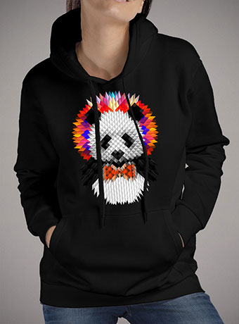Женская толстовка Panda 2
