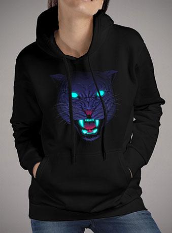 Женская толстовка Electric Panther