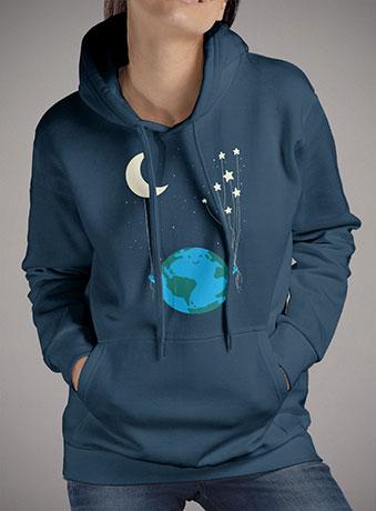 Женская толстовка Under the Moon and Stars