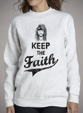Женский свитшот Keep The Faith