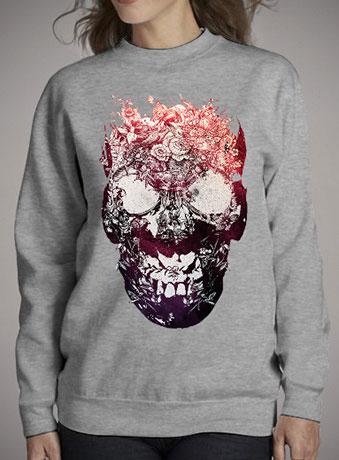 Женский свитшот Floral Skull